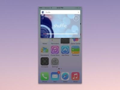 Music Player - #DailyUI #009 iphone app player music ui daily 009 dailyui