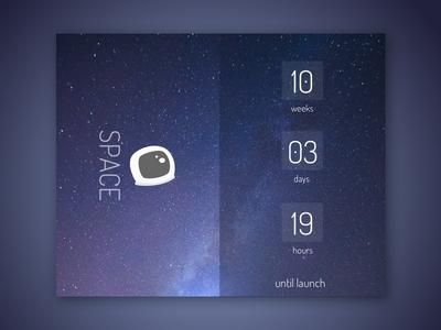 Countdown - DailyUI - 014 app countdown ui daily 014 dailyui