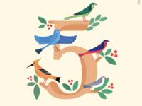 5 birds of Egyptian Mythology