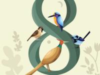Soul Birds from Japanese Mythology