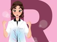 R is for Rosalind Franklin