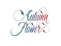 Autumn Flower Typeface