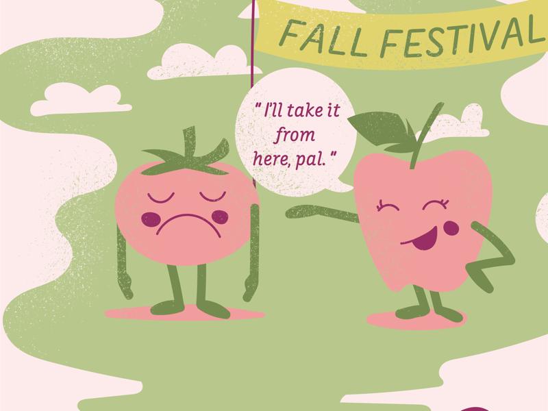 Fall Festival characterdesign vintage eventbranding illustration