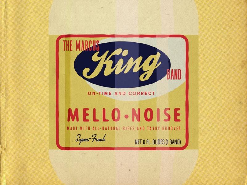 The Marcus King Band vintage illustration