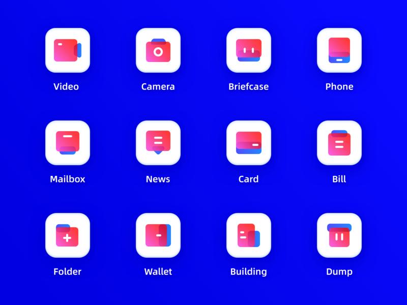 Icons color clear brand design brand design image icon