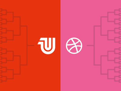 Presenting The Brackets...from United Pixelworkers + Dribbble