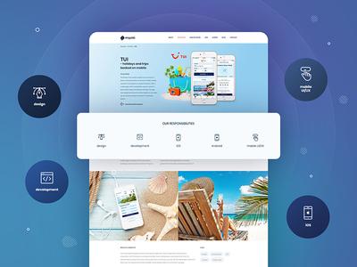 Miquido website - Portfolio