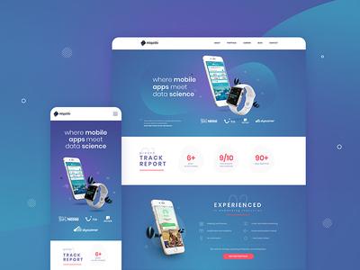 Miquido website - main page