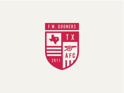 Fort Worth Gooners Badge