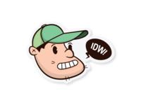 Self-Portrait Sticker