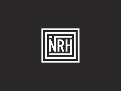 NRH Sticker concept dribbble shot logo follow me playoffs weekly warmup nrh sticker hometown