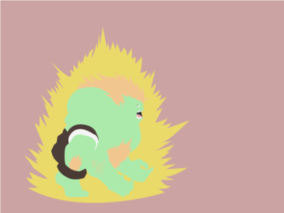 Blanka flatdesign graphic animation console game streetfighter art illustration gif sketch 2d character