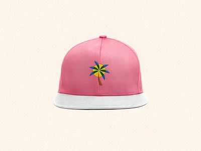 Pacific Counter - Snapback branding palm snapback patch mark logo hat cap ball badge