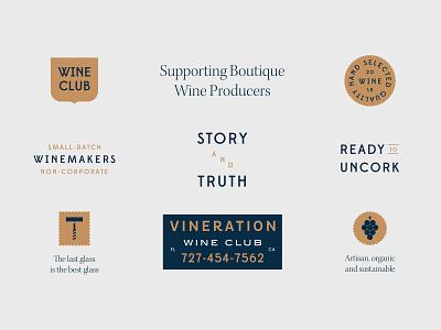 Ready to Uncork packaging branding logo wine vector geometric illustration graphic flat design grapes bottle
