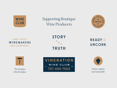 Ready to Uncork packaging branding logo wine vector geometric illustration graphic flat design grapes bottle