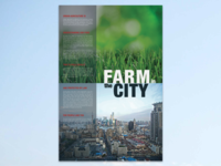 Urban Agriculture Educational Poster