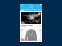 Wish Browse Redesign
