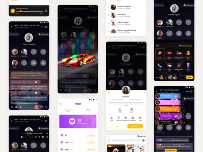 Live voice UI for 4Fun app