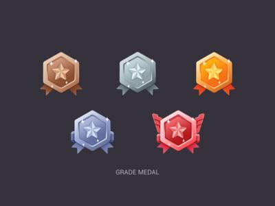 Grade medal