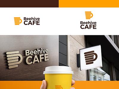 Behive Cafe slovakia coffee cafe behive bee logotype logo