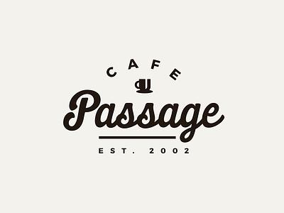 Cafe Passage wine slovakia logotype logo coffee cafe