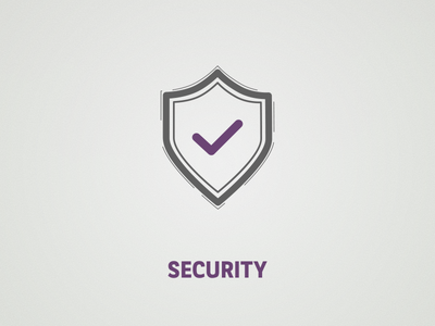 Security protect defense violet true shield protection security