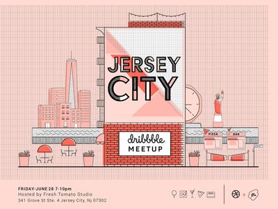 Jersey City Dribbble Meet up
