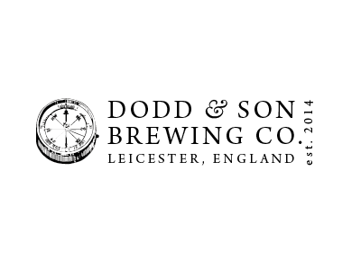 Dodd & Son Brewing Co. branding logo identity