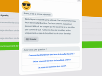 Training exam test course elearning learning quizz design animation isometry isometric illustration mobile ui kit style guide design system