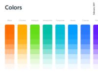 Colors, Kitt : Ornikar Design System