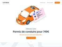 Driver's license • Ornikar 2018 Rebranding