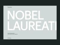 Nobel Laureates • Populate