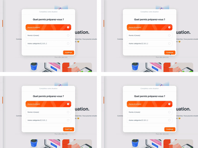Transitions tests within a modal ui kit style guide studio invision design system button loader animation prototyping origami framer