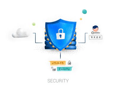 Privacy Lock Illustration