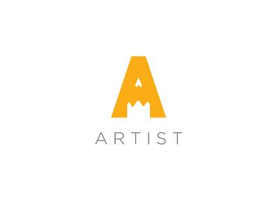 ARTIST logo | KSA identity brand branding design icon logo