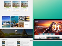 Travel And Work Website