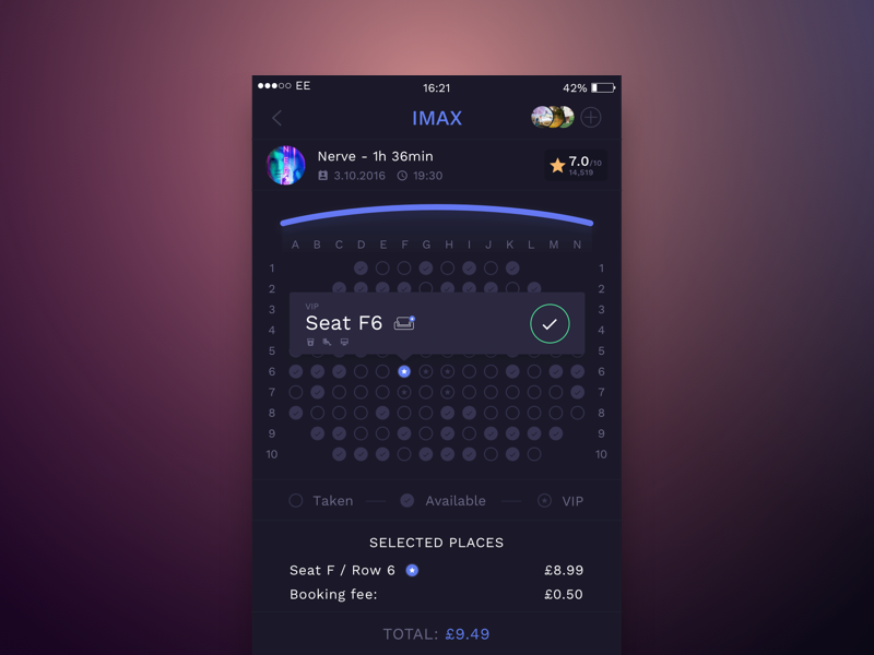 Cinema Booking App