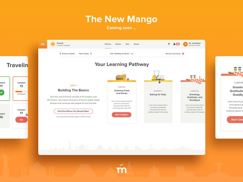 The New Mango Web App
