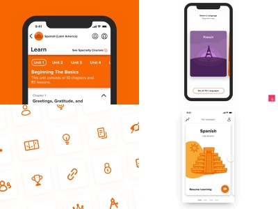 Top 4 for 2018 culture illustration icons android ios app ux animation uidesign design year in review dribbble