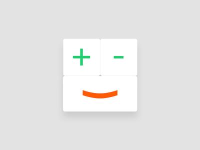 A happy Calculator Icon (DailyUI 005)