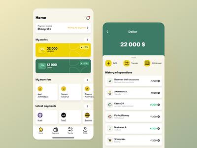 Wallet App - Payleen crypto app uxui ui