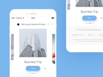 Booking App ui travel app