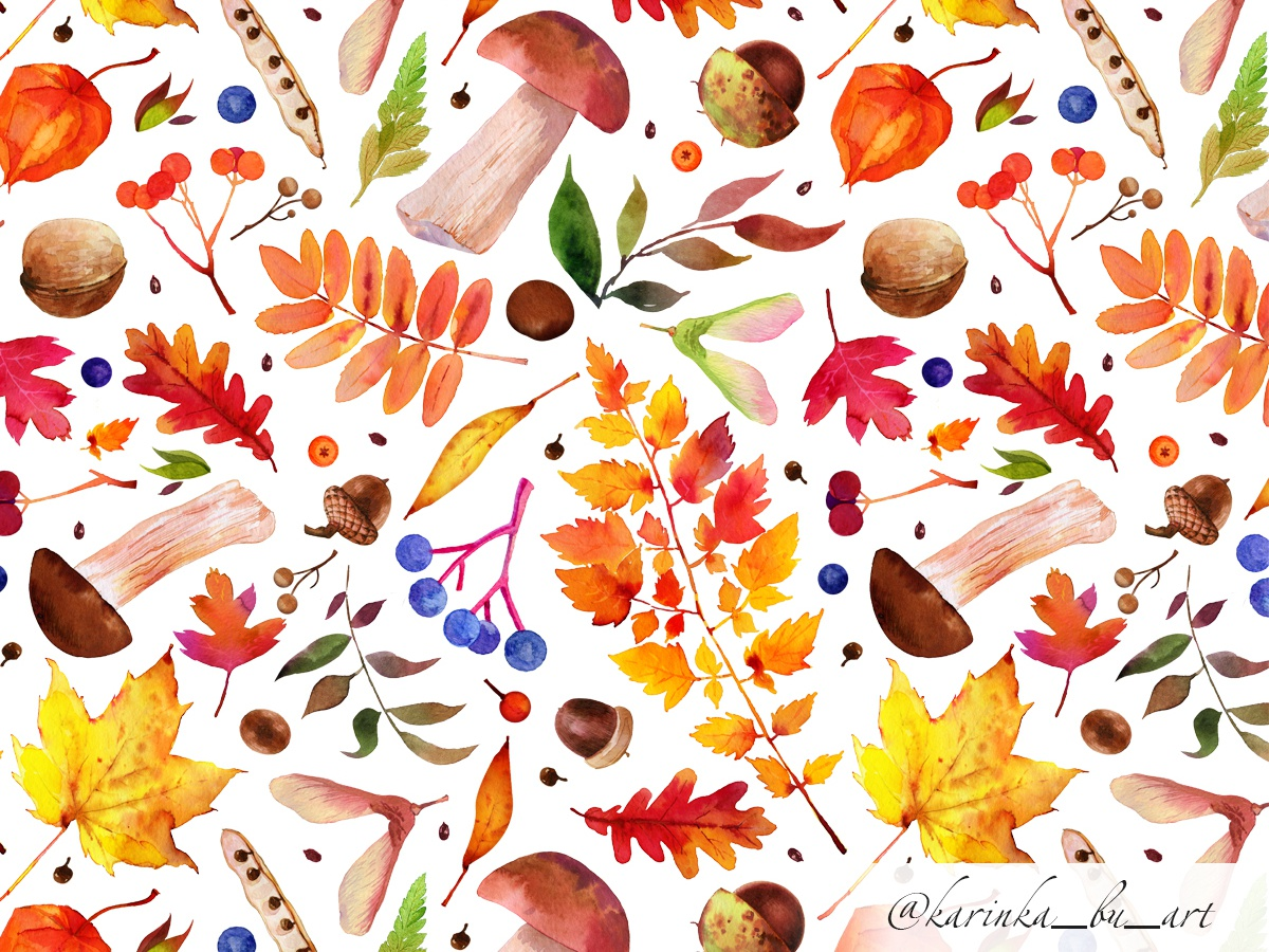 Autumn pattern autumn pattern watercolor pattern fabric pattern fabric textile seamless pattern babypink baby clothes comission surface design watercolor plants illustration flowers plant seamless baby shower watercolor painting