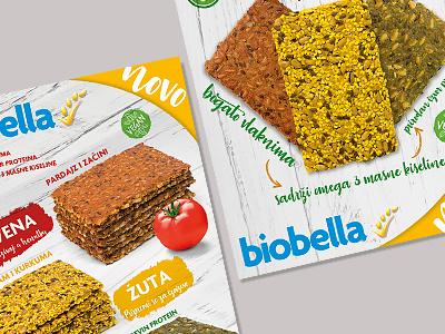 Biobella photo healthy food flayer
