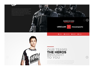 esports metro gamy box flat uidesign ui screendesign webdesign shot gaming esport