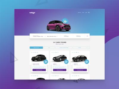 Car Rental - Choose your car