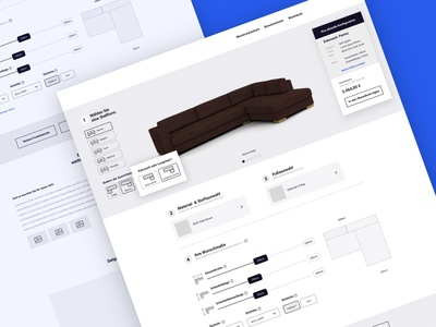 Configuration Tool Wireframe