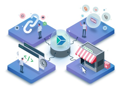 Instamojo Developers Page payment code power illustration isometric vector yatish asthana web design ui ux landing page developer instamojo