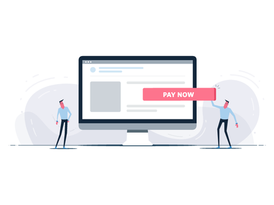Embed Payment Button yatish asthana web design vector ui ux landing page website instamojo illustration payment button