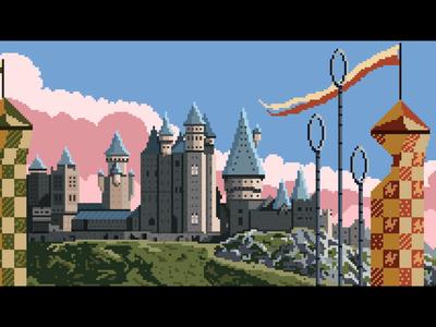 Hogwarts ~ Wizarding World Landscape